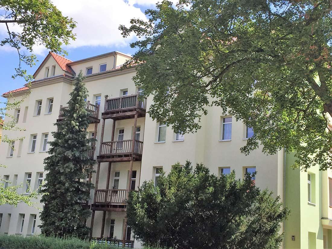Wohnanlage Cyriakstraße Hausansicht